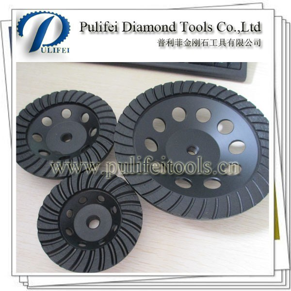 Diamond Metal Grinding Cup Wheel for Abrasive Stone