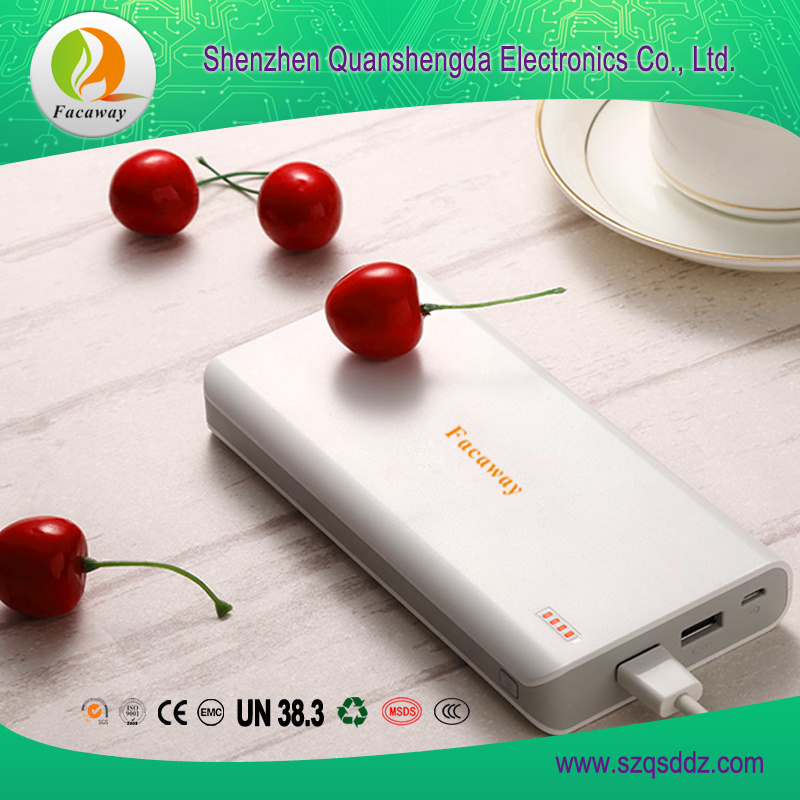 (QSD-5) 20000mA 5V/1A Large Capacity Mobile Power Supply