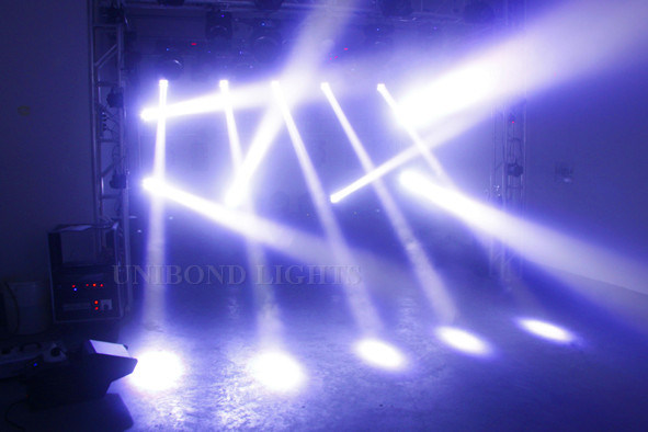 4*25W Super Beam LED Moving Head Stage Lighting