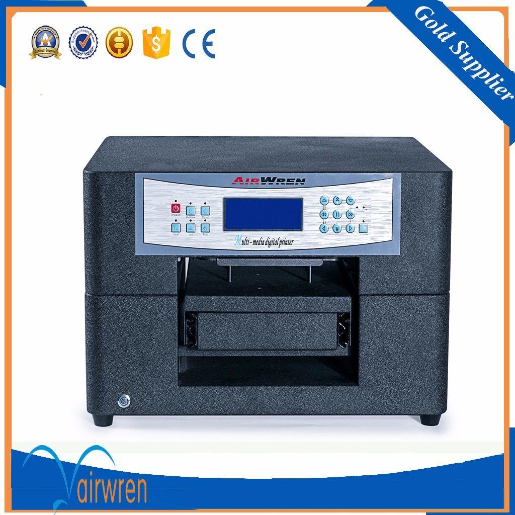Desktop T-Shirt Printing Machine Digital DTG Textile Printer with A4 Size