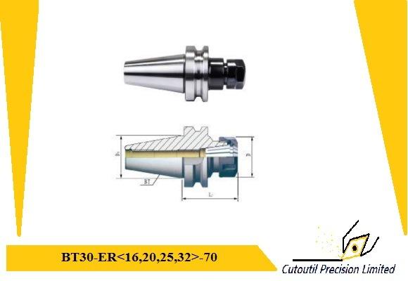 Cutoutil Bt30-Er32-70 -100 Collet Chuck Er Toolholder