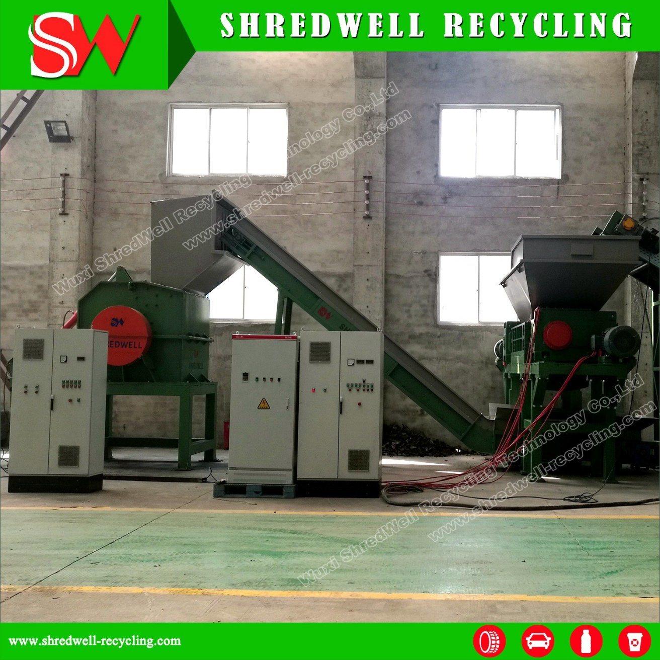 Scrap Metal Recycling Plant for Shredding Waste Metal Oil Drum/Steel Sheet/Automobile Car