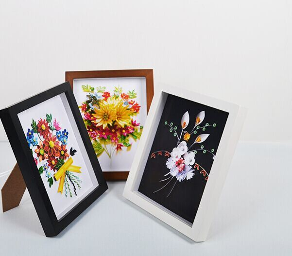 3D Wood Wholesale Deep Shadow Box Picture Frame