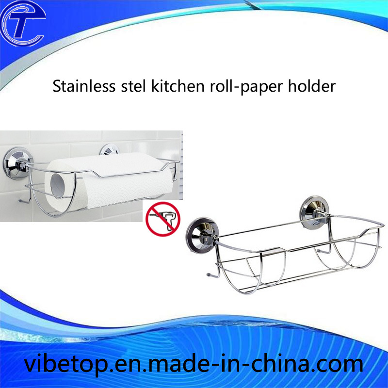 Factory Outlet High Quality Stainless Steel Kitchen Roll-Paper Holder
