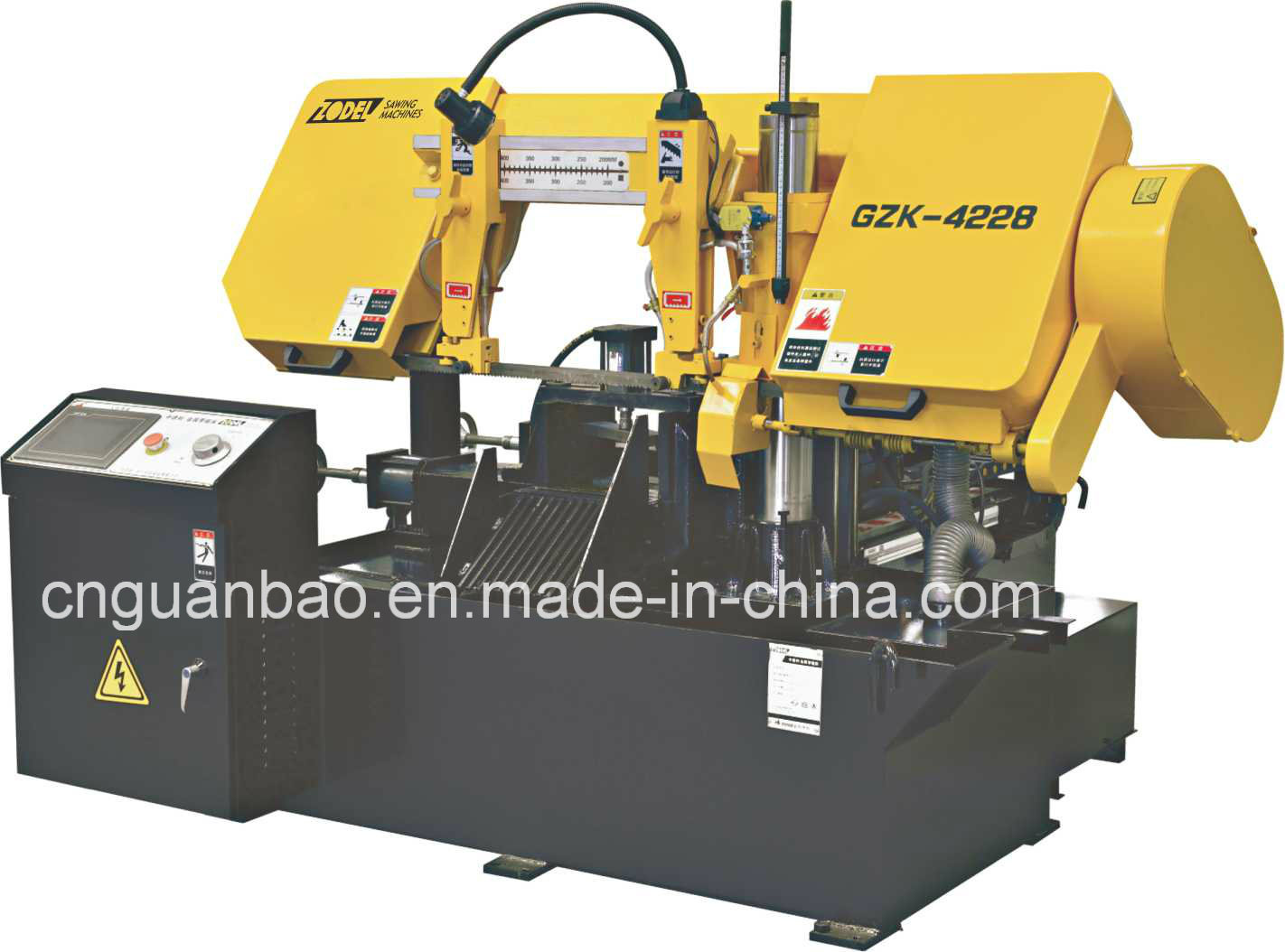 Mini CNC Band Saw Machine Gzk4228