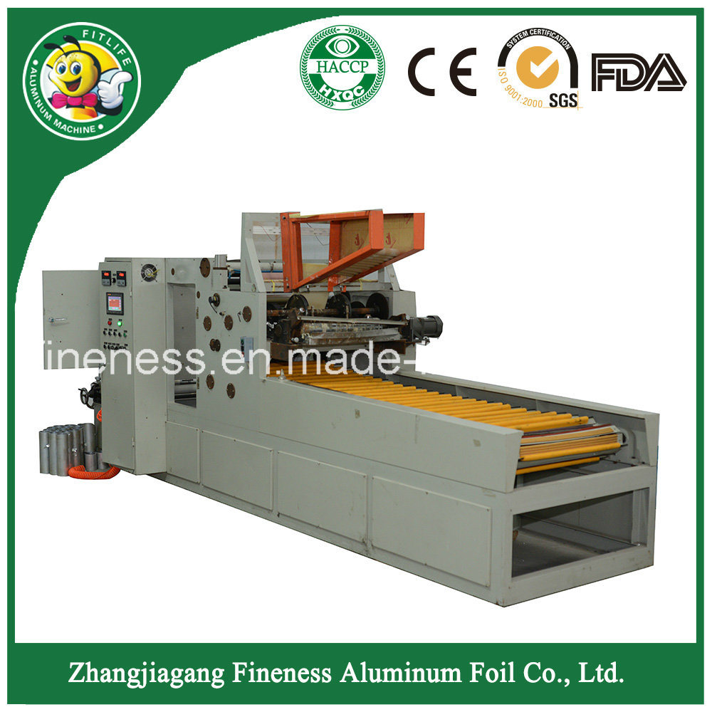 Automatic Machine for Aluminium Foil Cutting and Making