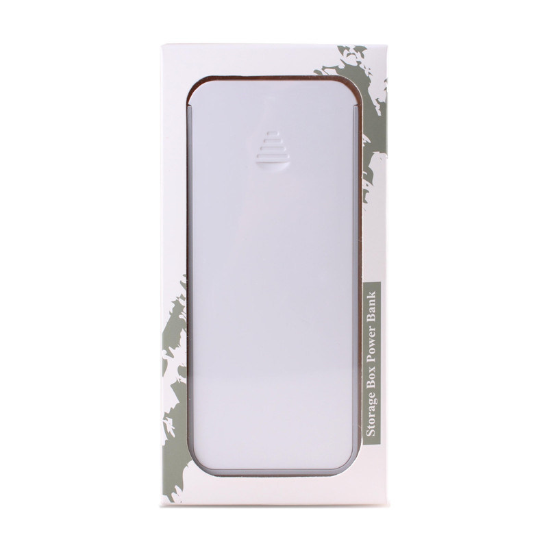 New Design Mini Power Bank with Storage Box Mobile Power Bank 4000mAh