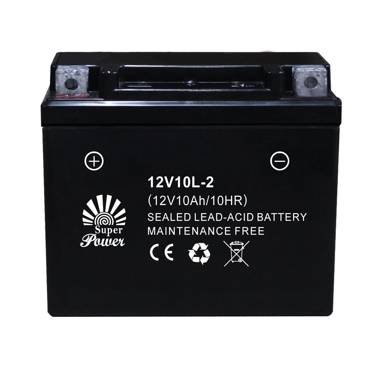 VRLA Motorcycle Battery 12V 10ah with CE UL Certificate Called 12V10L-2