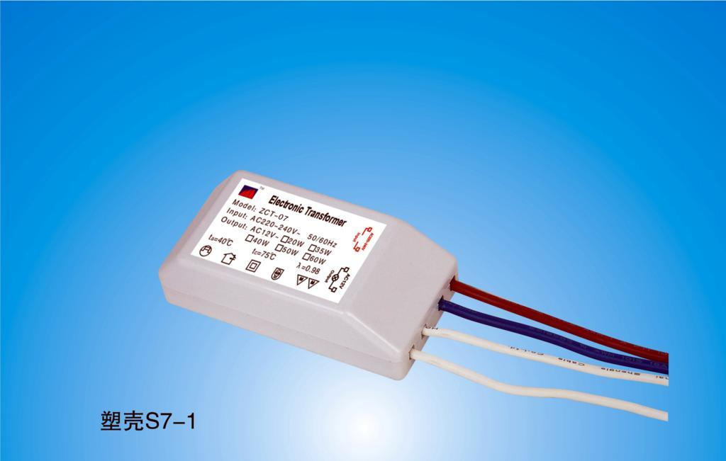 Электронный трансформатор для галогенных ламп 50W.
