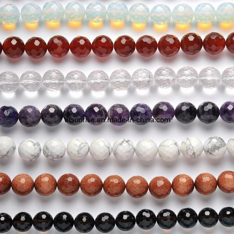 Fashion Natural Gemstone Amethyst Tiger Eye Crystal Bead Charming Jewellery