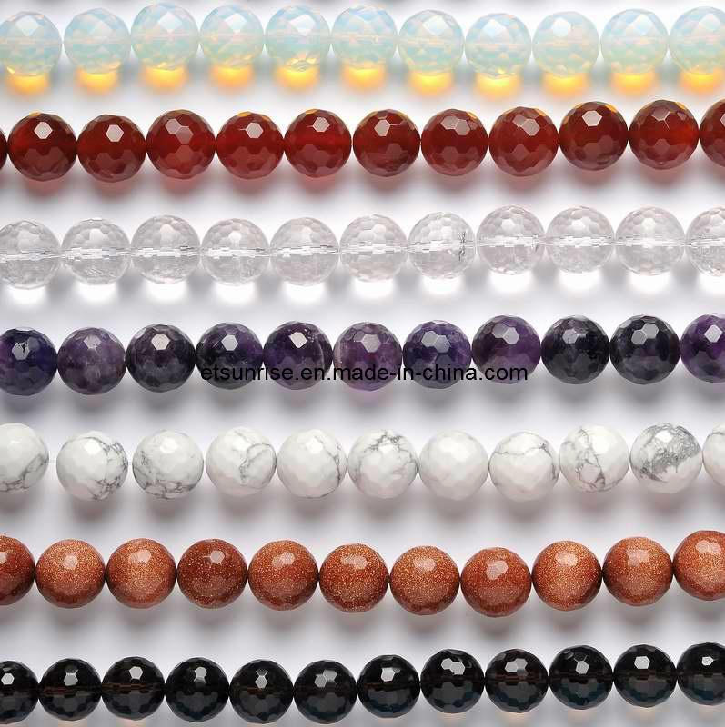 Semi Precious Stone Crystal Bead, Fashion Gemstone Bead Jewellery (ESB01705)