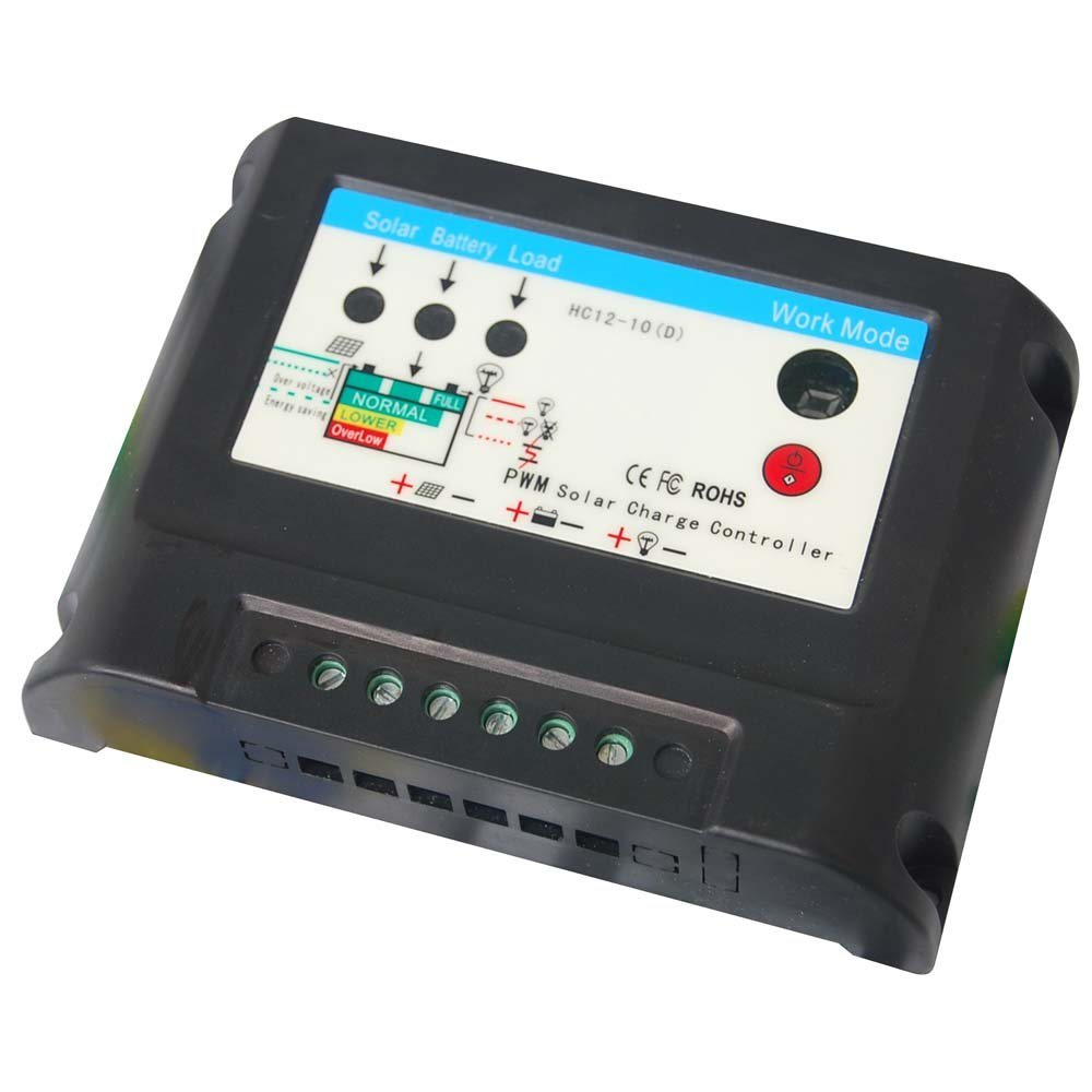 China 10a 15a Waterproof Solar Charge Controller With Led