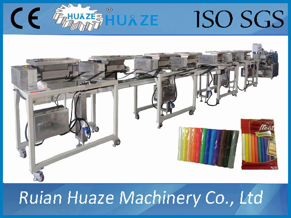 Multicolor Plasticine Packing Machine