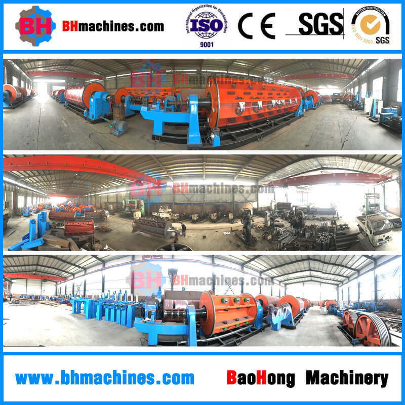 37 Rigid Cage Stranding Machine