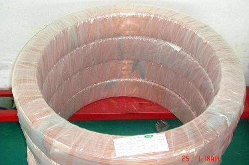 China copper capillary tube with coil