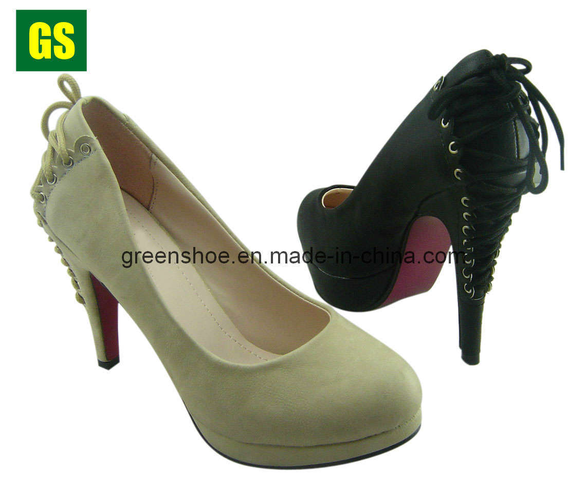 Latest Style High Heel Women s Shoes for 2012 (GS-HS11058