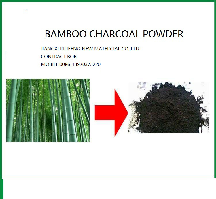 Factory Bamboo Activated Charcoal Powder / Bamboo Charcoal Powder