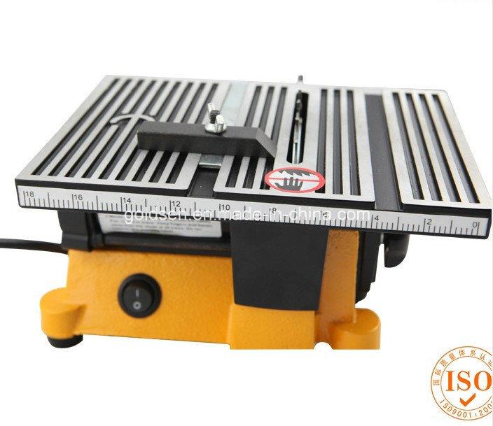 China 100mm Portable Hobby Craft Bench Table Saw Electric Mini Table Saw Circular Gw8061
