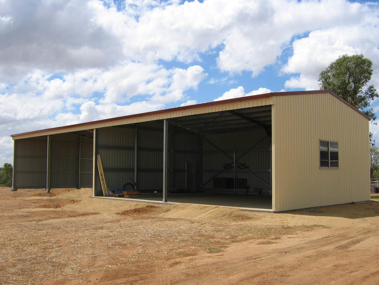 Metal Structure Steel Sheds With