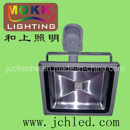 USA CREE Chip 30W PIR Motion Sensor LED Flood Lights (JCH-TGD-PIR-30W)