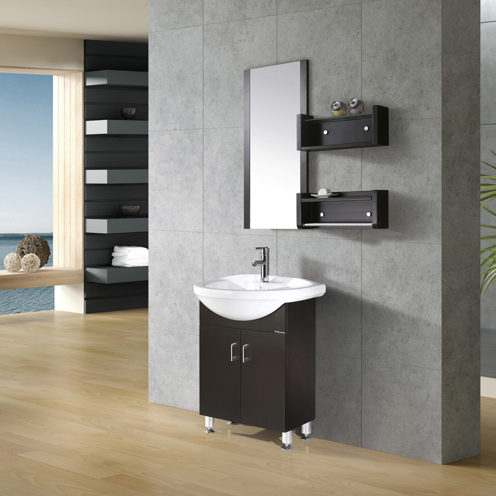 China Espresso Bath Bathroom Cabinet Kl 301 China Bathroom Furniture Plywood Bathroom