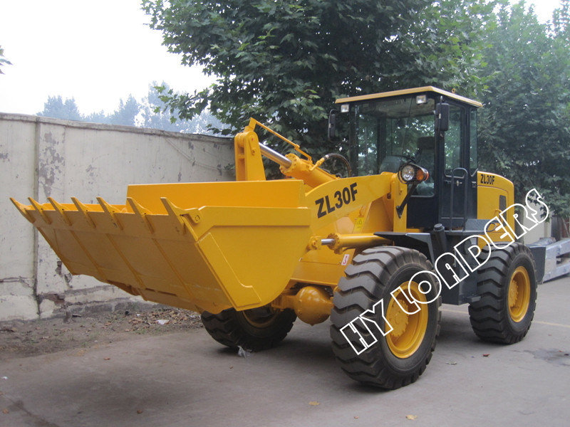 Construction Machine 3000kg Loading Capacity Zl30f Loader