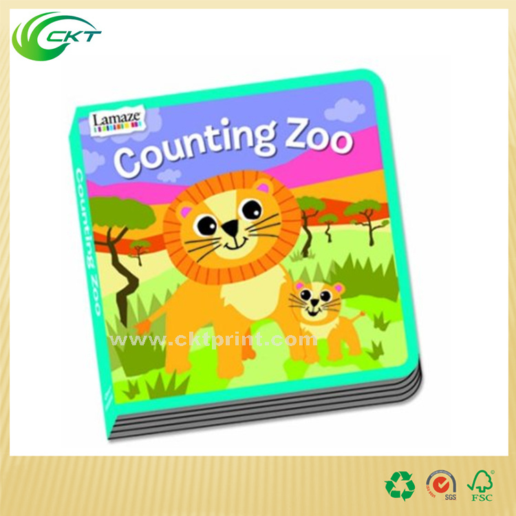 Good Quality Customized Colorful Cheap Softcover Comic Children Book in English (CKT-BK-007)