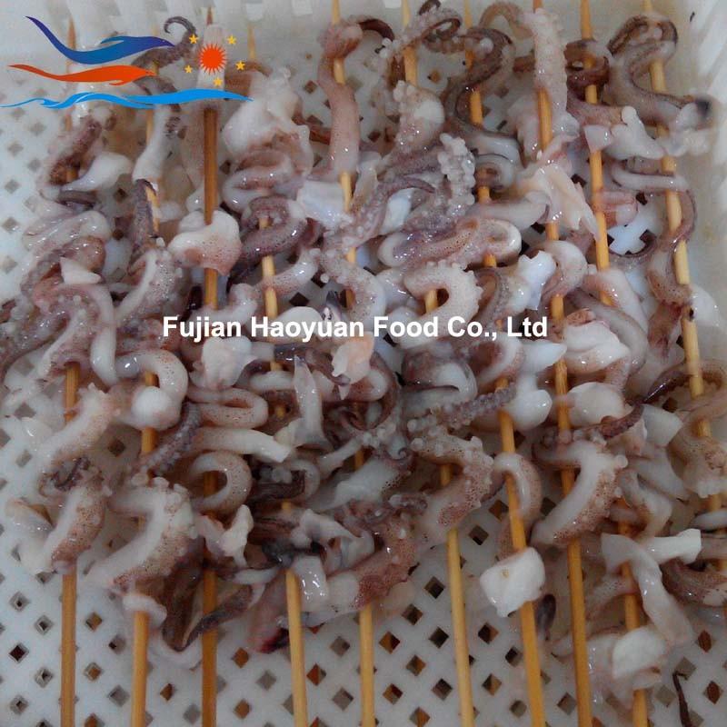 2017 Frozen Seafood Squid Tentacle