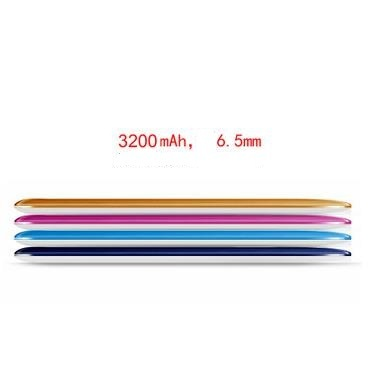 Super Slim 4000mAh Polymer Mobile Power Bank for iPhone All Electronic Devices