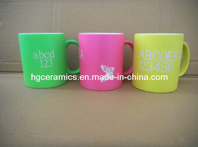 Laser Engraved Fluorescent Mug
