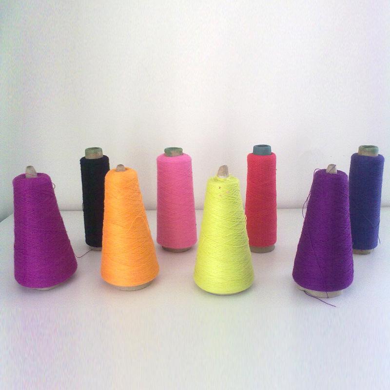Yarn of Cotton/Acrylic 60/40 (Ne20/2 dyed)