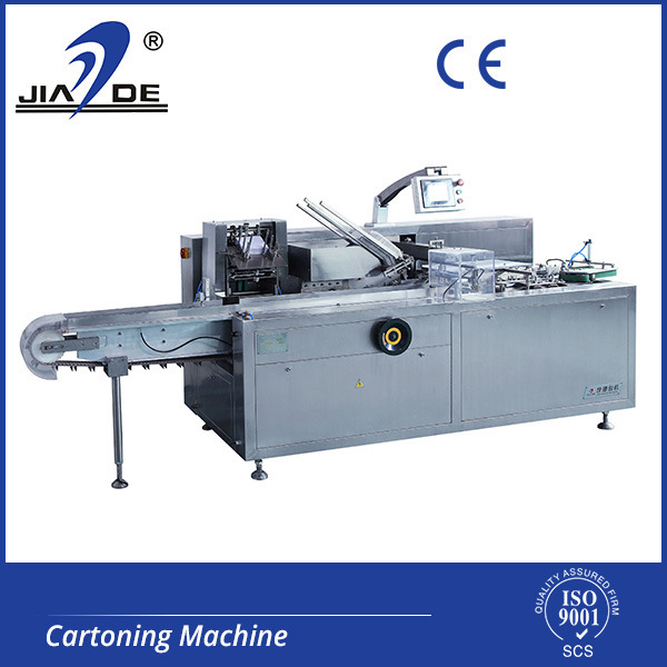 Automatic Blister, Bottle, Tube, Bag, Sachet, Soap, Food, Condom, Plaster, Ointment, Flow Pack Products Cartoning Machine (JDZ-100)