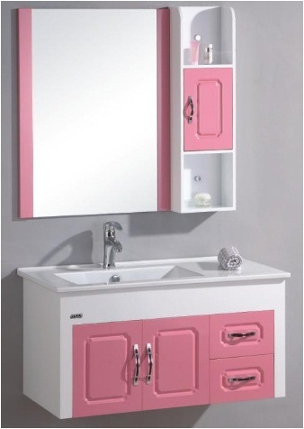 Bathroom Vanity Accessories on Pvc Bathroom Vanity Bl 8129   China Bathroom Cabinet  Bathroom Vanity