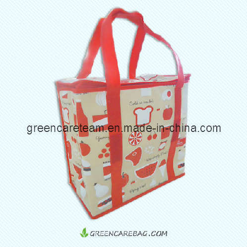 Easy Carry Non Woven Lunch Cooler Bag China Lunch Cooler