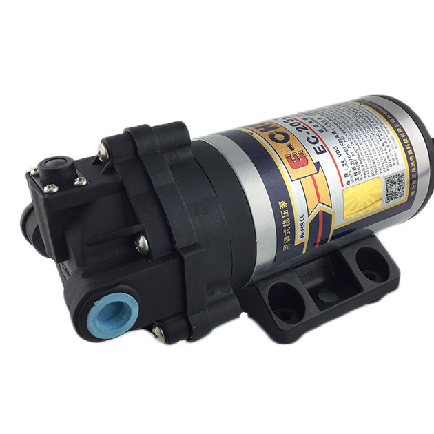 E-Chen 203 Series 75gpd Diaphragm RO Booster Pump - Self Priming Self Pressure Regulating Water Pump