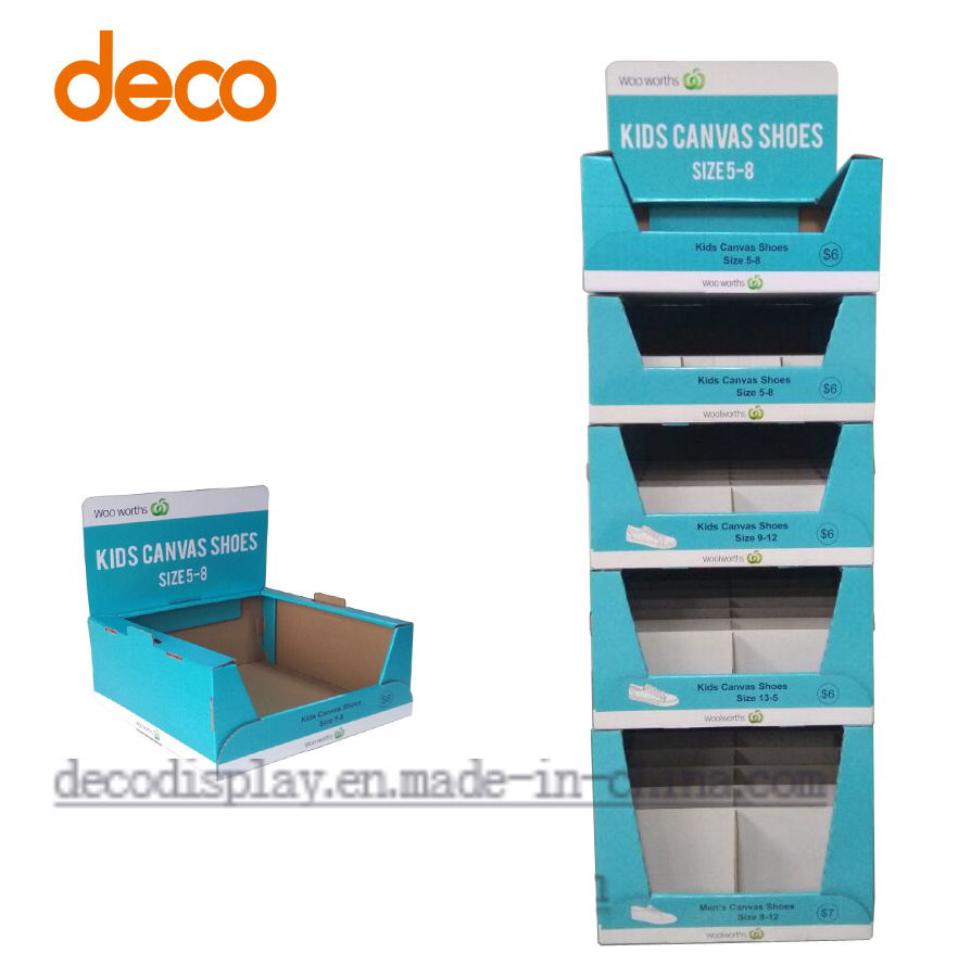 Cardboard Display Stand Paper Display Shelf Paper Counter Display