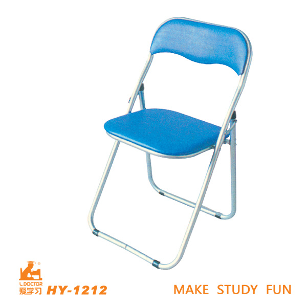 Metal Folding Study School Student Chairs with Tables