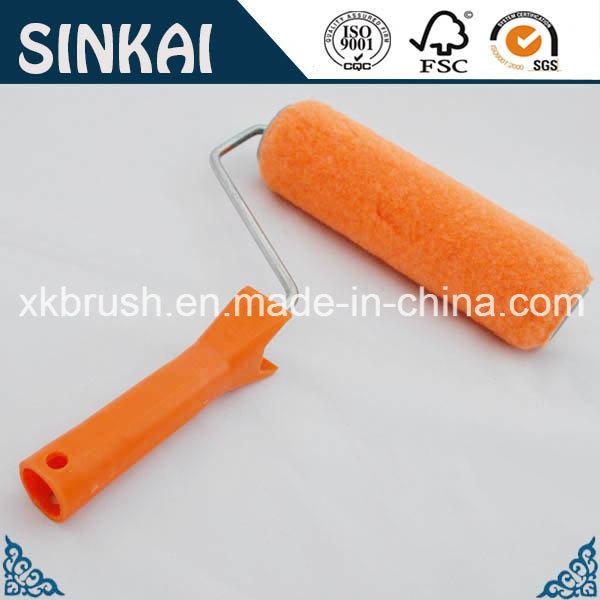 Best Roller Brush with Orange Plastic Handle