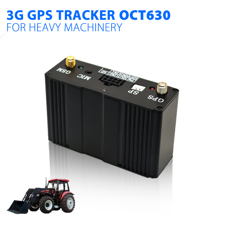 3G GPS Tracker with Web Based Tracking System