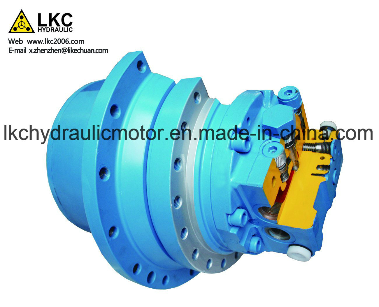 Excavator Axial Piston Motor Spare Parts for 2.5t~3.5t Crawler Machinery