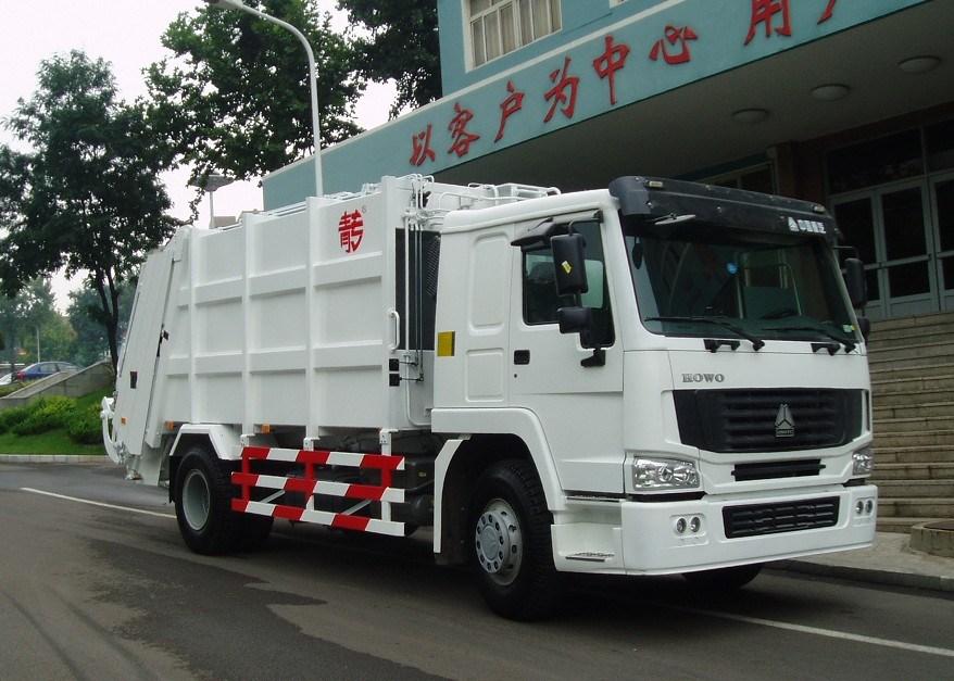 Sinotruk HOWO 10-18 M3 Garbage Truck (QDZ5161ZYSZH)