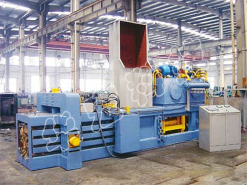Automatic Hydraulic Waste Paper Baler Machine with Ce