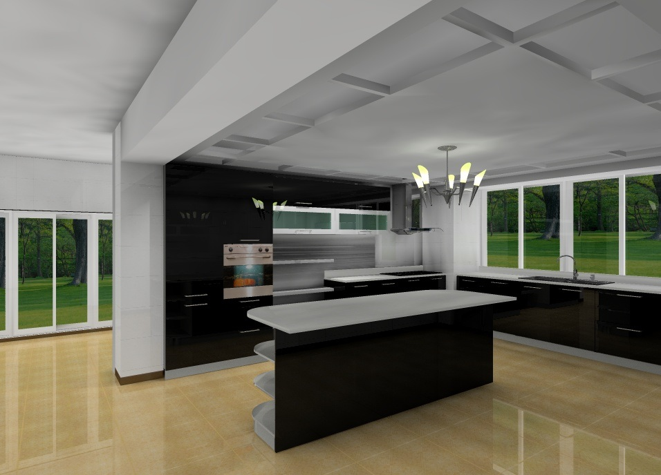 China nice kitchen cabinets mn 009 china modern for Nice modern kitchens