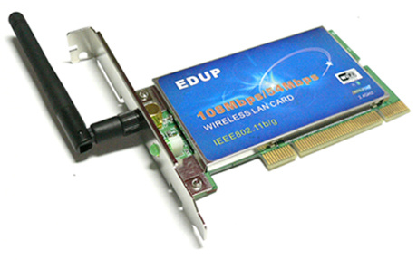 Network Cards on Pci 108m Wireless Network Card   China Pci Interface  Network Card