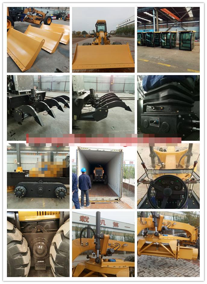 Py220 Gr215 Cut Blade 4356mm Road Grader 16.5tons Motor Grader for Sale