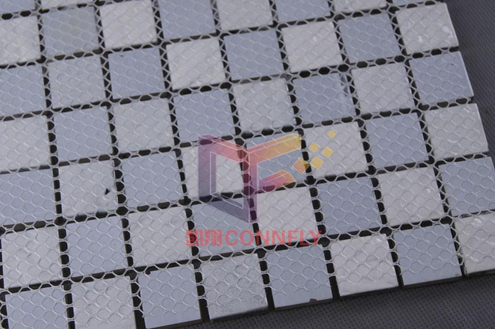 Glass Mosaic, Swimming Pool Mosaic, Crystal Mosaic Tile (CFC111)