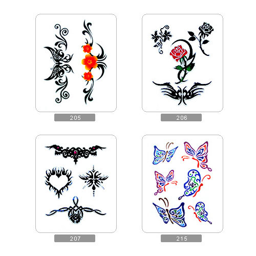 is selling printer paper that can be used to make temporary tattoos.