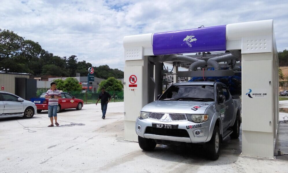 Automatic Quick Car Washing Machine for Kuala Lumpur Carwash Business