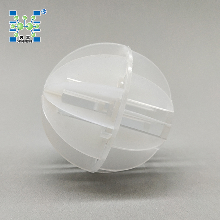 Polypropylene PP PE Polyhedral Hollow Ball Plastic Bio Filter Media