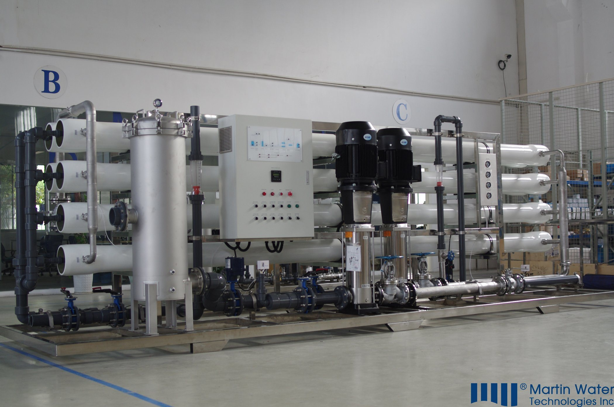 China Industrial Reverse Osmosis Water Treatment Equipment System